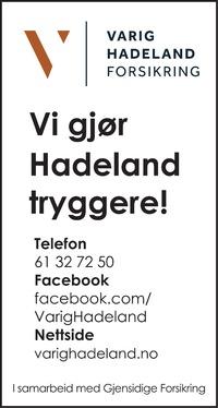 Annonse i Hadeland