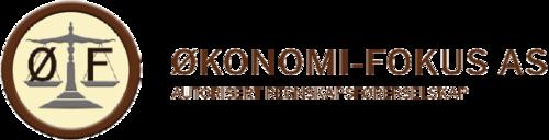 Logoen til Økonomi-fokus AS