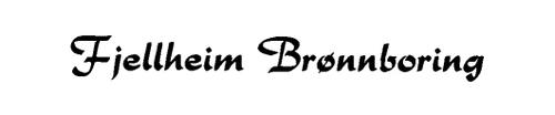 Logoen til Fjellheim Brønnboring