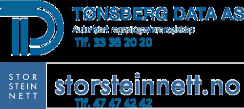 Logoen til Tønsberg Data AS