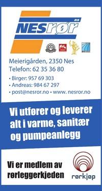 Annonse i Ringsaker Blad - Bygg og fagfolk