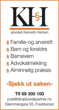 Annonse i Fredriksstad Blad - Rådgivingsguiden
