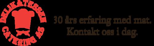 Logoen til Delikatessen Catering AS