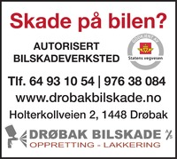 Annonse i Akershus Amtstidende