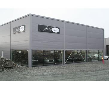 Skilt og vindusdekor for Auto10