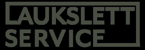 Logoen til Laukslett service AS