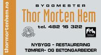 Byggmester Thor Morten Hem