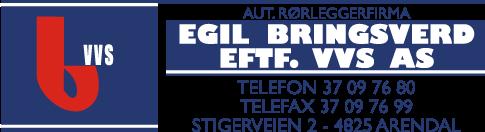 Egil Bringsverd Eftf VVS AS