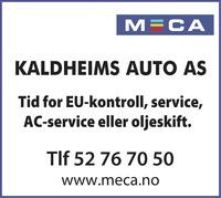 Annonse i Haugesunds Avis - Bil, MC & Caravan