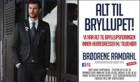 Annonse i Sarpsborg Arbeiderblad - Alt til Bryllupet