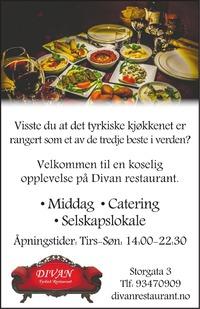 Annonse i Fredriksstad Blad - Restauranter og uteliv