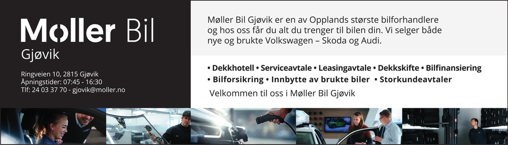 Møller Bil Oppland AS