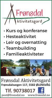Annonse i Haugesunds Avis