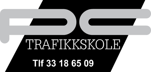 Logoen til PC trafikkskole AS