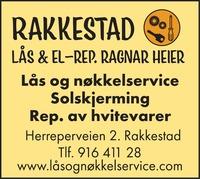 Annonse i Rakkestad Avis