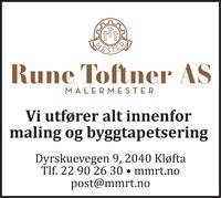 Annonse i Romerikes Blad - Bygg og fagfolk
