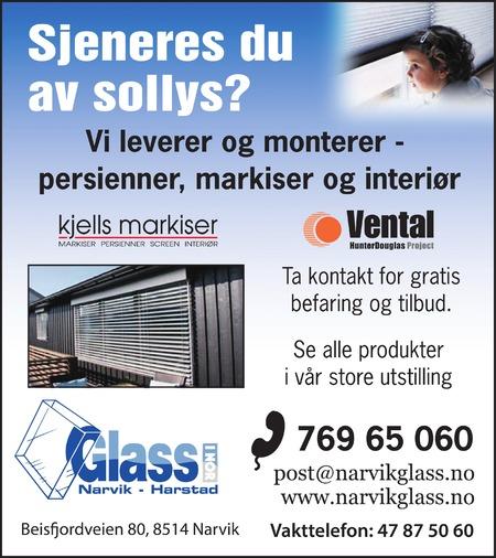 Glass i nor Narvikglass AS