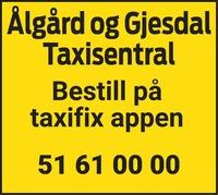 Annonse i Gjesdalbuen