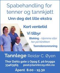 Annonse i Sandefjords Blad - Alt til bryllupet