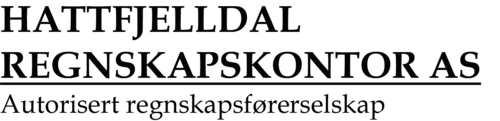 Hattfjelldal regnskapskontor AS