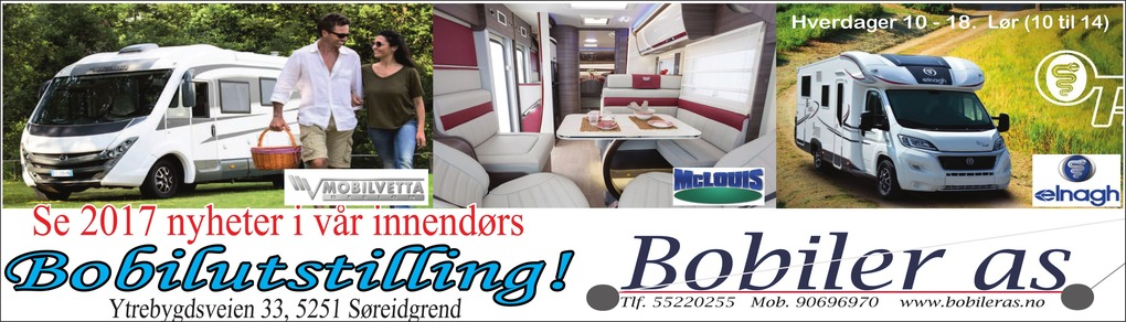 Annonse i Bergensavisen - Bil, MC & Caravan