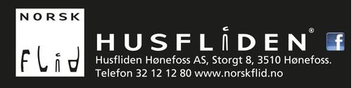 Logoen til Husfliden Hønefoss BA