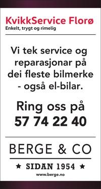 Annonse i Firdaposten