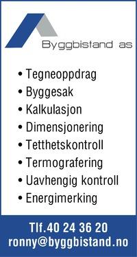 Annonse i Øyene  - Bygg og fagfolk