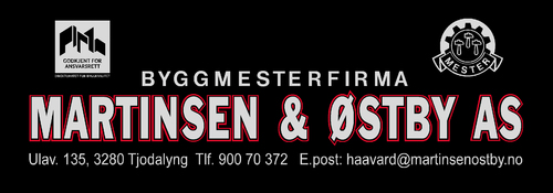Byggmesterfirmaet Martinsen & Østby AS