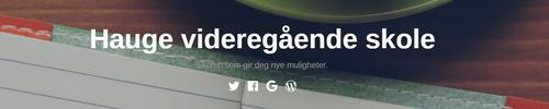 Hauge Videregående Skole As
