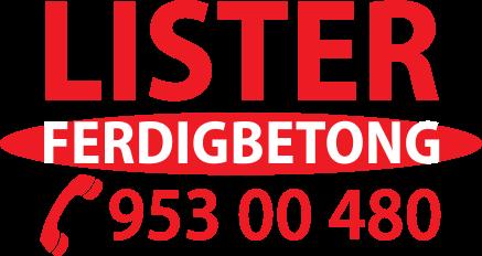 Logoen til Lister Ferdigbetong AS