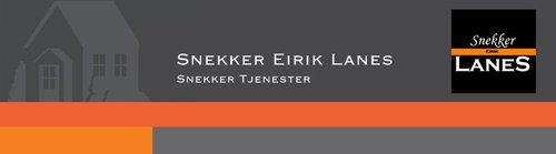 Snekker Eirik Lanes