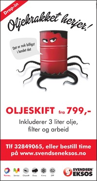 Annonse i Drammens Tidende - Bil, MC & Caravan