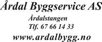 Årdal Byggservice AS