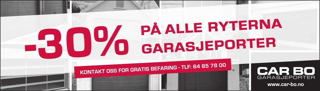 Car-Bo Garasjeporter AS avd Vestby