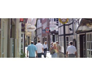 Sightseeing til fots i Bremen & Hotell 3 netter