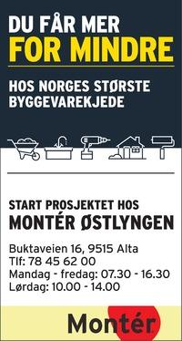 Annonse i Finnmark Dagblad