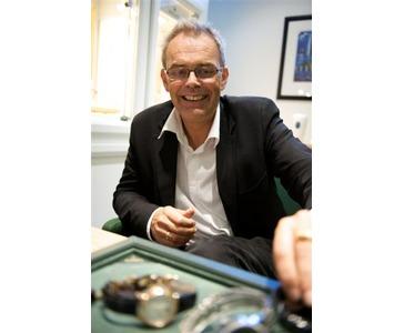 Knut Lervik i vårt Rolex Showroom