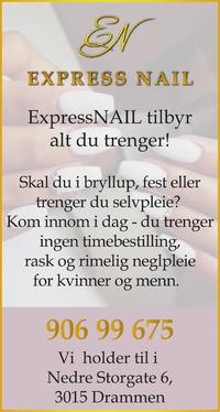 Annonse i Drammens Tidende - Helse og velvære