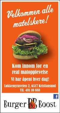 Annonse i Tidens Krav - Opplev Nordmøre