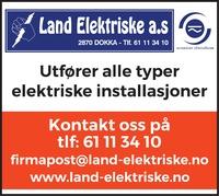 Annonse i Oppland Arbeiderblad - Bygg og fagfolk