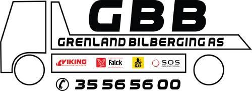 Logoen til Grenland Bilberging AS