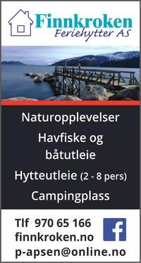 Annonse på trykk i Nordlys - Opplev Troms og omegn