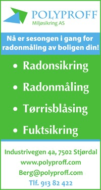 Annonse i Stjørdalens Blad