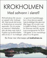 Annonse i Avisa Nordland - Alt til bryllupet
