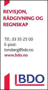 Annonse i Tønsbergs Blad - Rådgivingsguiden