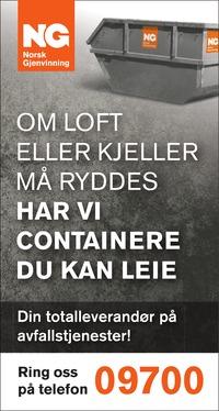 Annonse i Østlandsposten