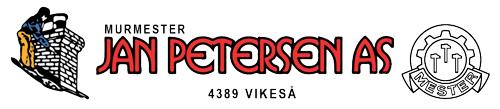 Logoen til Murmester Jan Petersen AS