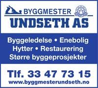 Annonse i Sandefjords Blad - Bygg og fagfolk
