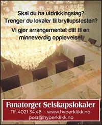 Annonse i Bergensavisen - Alt til bryllupet
